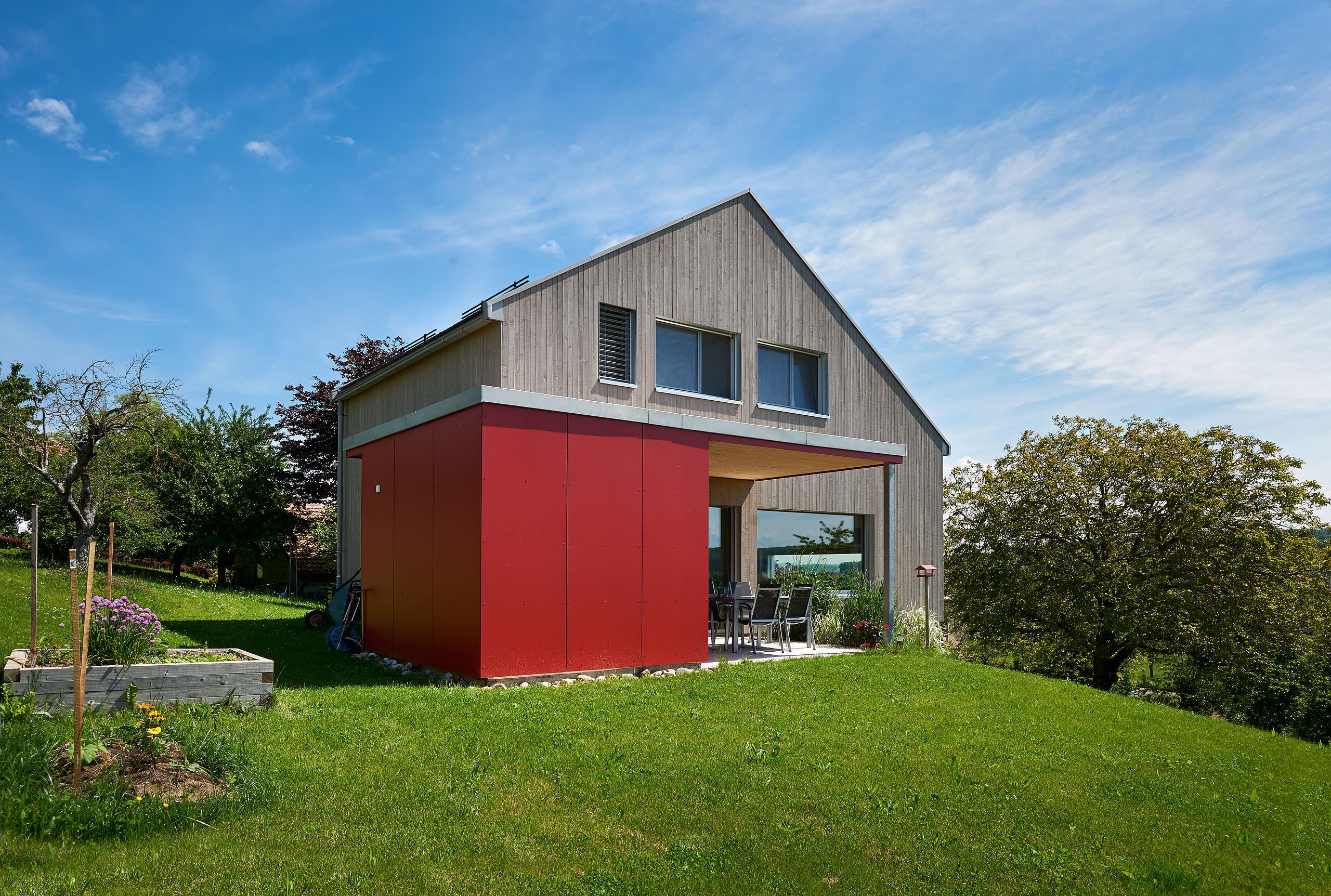 Maison Bois Architecte Pas Cher maison passive - lutz architectes